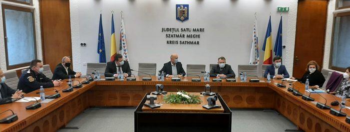 Ministrului Sănătății Nelu Tătaru, în vizita la Satu Mare