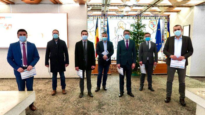 Parlamentarii satmareni și-au primit certificatele de aleși (Foto)