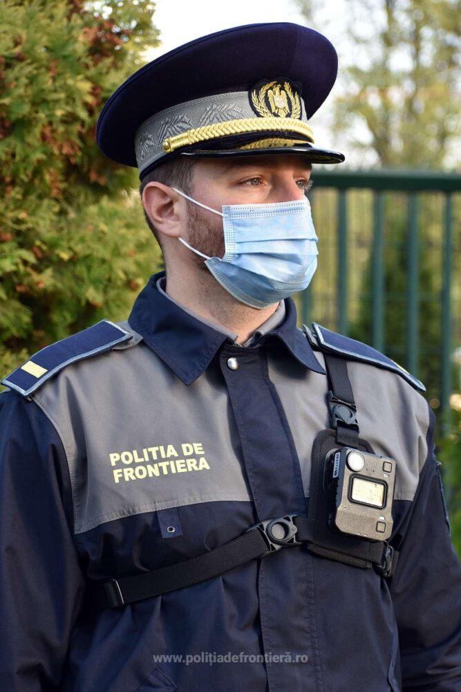 Poliția de Frontiera, dotata cu body-cam-uri