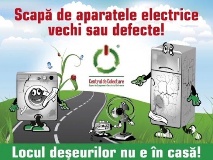 Acțiune de colectare a deseurilor electrice și electronice