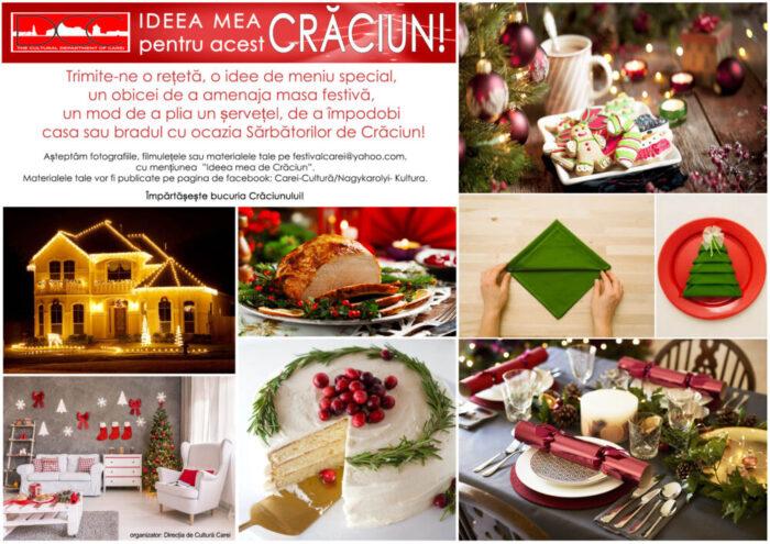 Ideea ta pentru acest Crăciun !