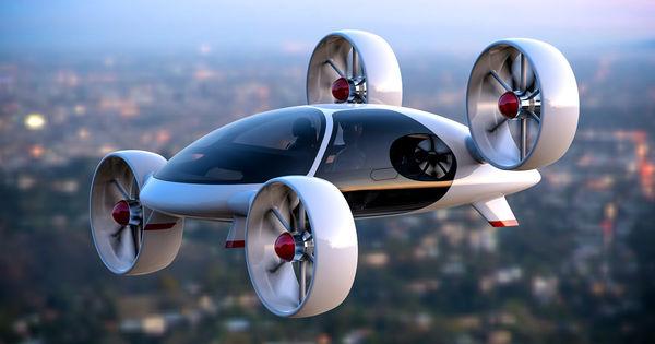Primele mașini zburătoare vor funcționa din 2023. Vezi unde