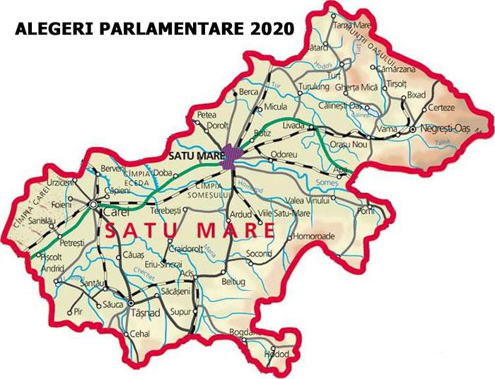 ALEGERI PARLAMENTARE 2020. Rezultate FINALE oficiale județul Satu Mare