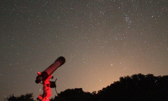 Ploaie de stele pe cerul Romaniei