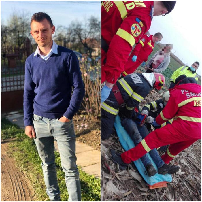 Un tânăr de 28 de ani are nevoie de proteza. Și-a strivit brațul într-un utilaj (Foto)