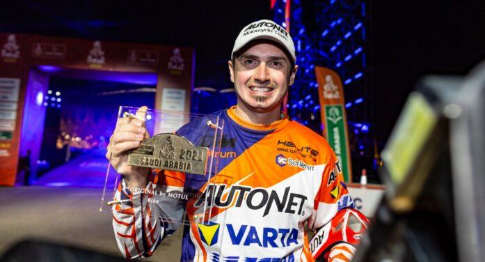 Mani Gyenes s-a întors acasă. Rider-ul reușește un nou Dakar de excepție