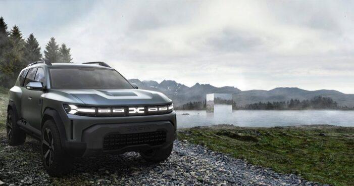 Dacia a prezentat conceptul Bigster, un SUV mai mare decât Duster (Foto)