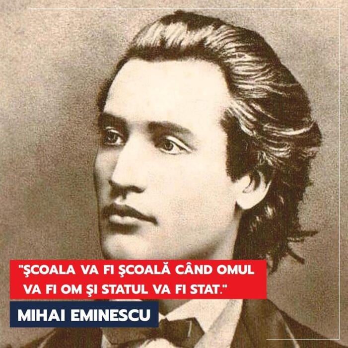 Marcel Ciolacu: recitindu-l pe Eminescu, realizăm cât de actuale sunt ideile sale