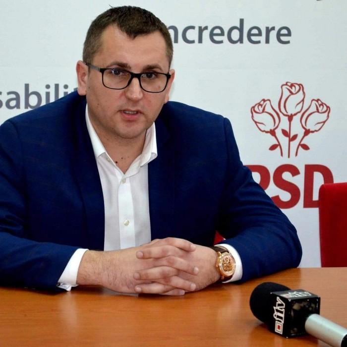 """PSD Satu Mare: """"Domnul Florin Mulcuțan nu figurează în evidența noastră ca fiind membru PSD"""""""