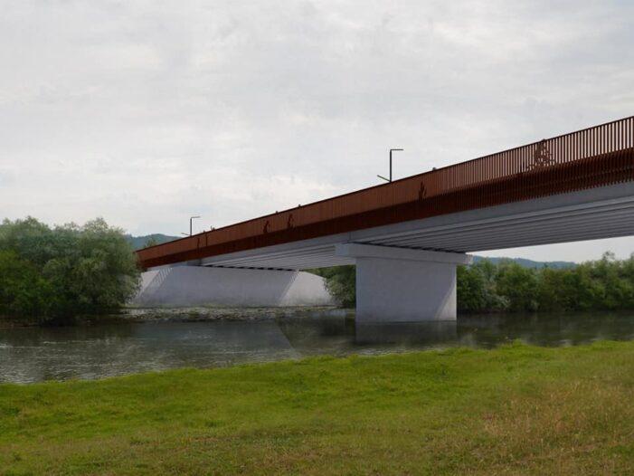 Pod peste Somes intre Potau și Caraseu ! Primarul Marian Torok a semnat contractul ! (Foto)