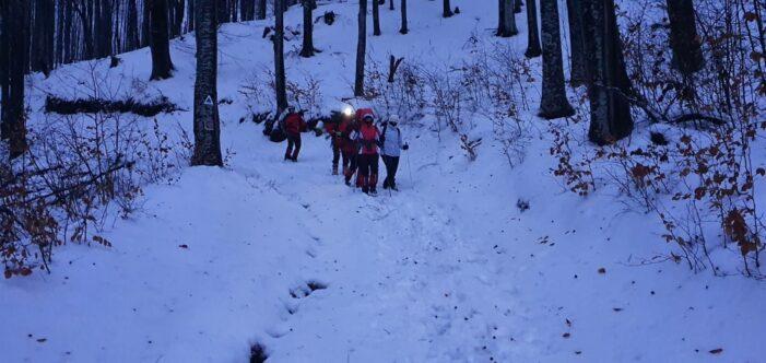 Trei tinere din Cluj, salvate in judetul Satu Mare. Interventie dificila (Foto)