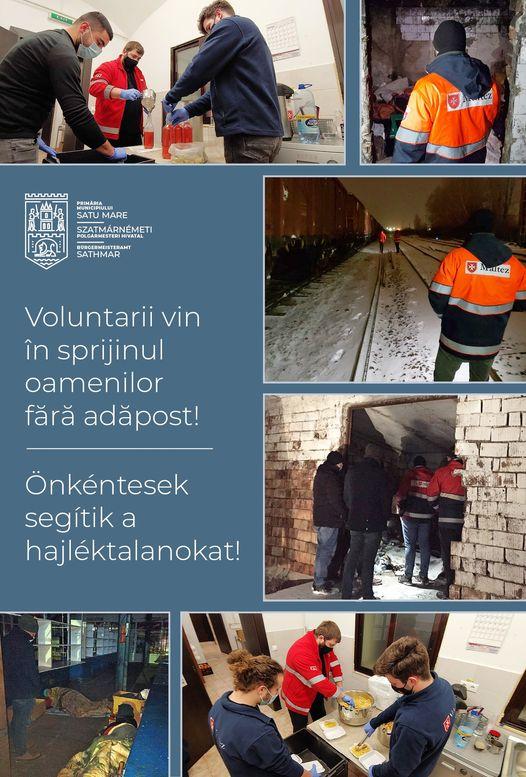 Oamenii strazii, protejati de voluntari