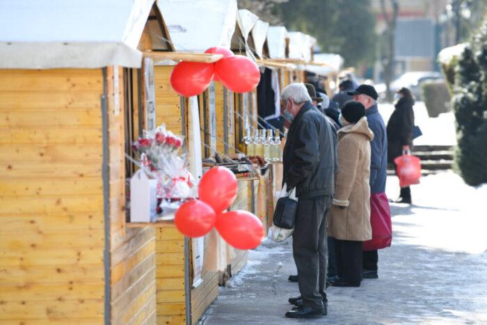 Targ de produse traditionale in Parcul Central din Satu Mare (Foto)