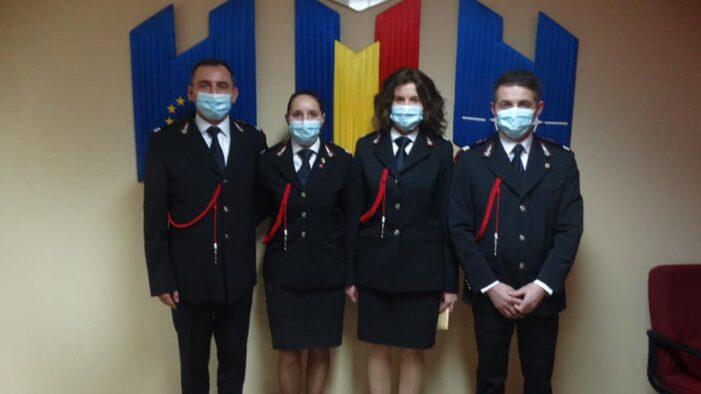 Au trecut in randul ofiterilor (Foto)