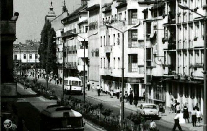 Așa arata Calea lui Traian din Satu Mare, în anii '60 (Foto)