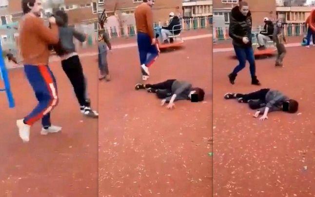 Bărbatul care a bătut un copil, într-un parc, a fost arestat pentru 30 de zile
