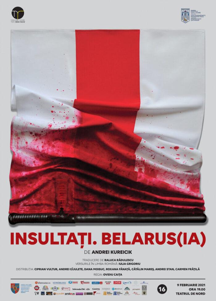 Acțiune de solidaritate a teatrelor din România cu artiștii din Belarus
