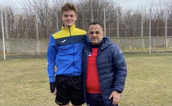 Andrei Zbona a semnat cu CFR Cluj