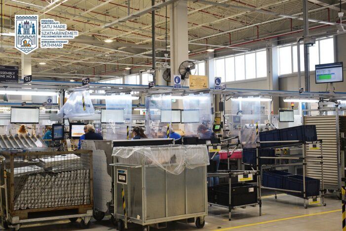 Electrolux a investit, in ultimii 2 ani, 10 milioane de euro in fabrica de la Satu Mare (Foto)