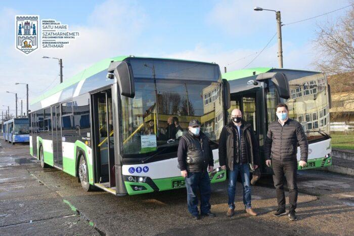Inca doua autobuze hibrid, achizitionate de municipalitate