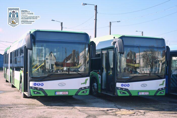 Solaris a mai livrat doua autobuze hibrid la Satu Mare (Foto)