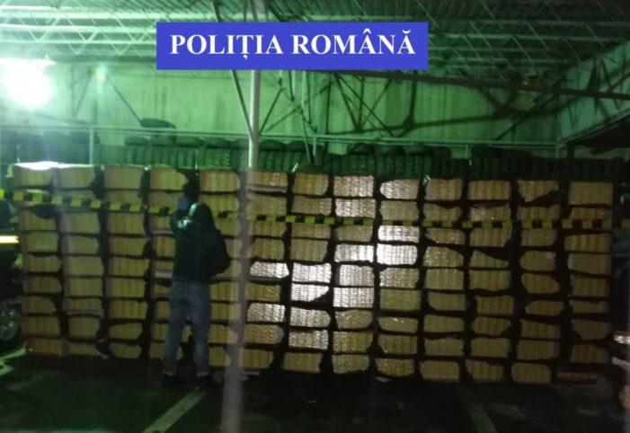 Contrabandist retinut. Prins cu tigari in valoare de 800.000 de lei (Foto)
