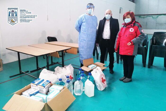 Donatie pentru Centrul de vaccinare (Foto)