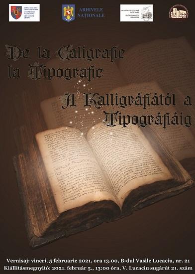 Expozitie de carte veche la Muzeul Judetean. De la caligrafie la tipografie