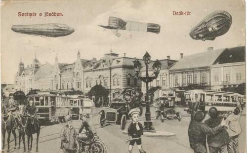 Așa își inchipuiau satmarenii inceputului de veac 20, viitorul orașului. Imagini inedite (Foto)