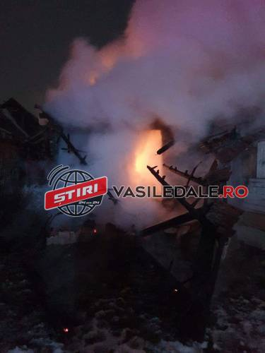 Cartierul de romi, incendiat ! Apa și Seini, ramase fără curent electric ! (Video)