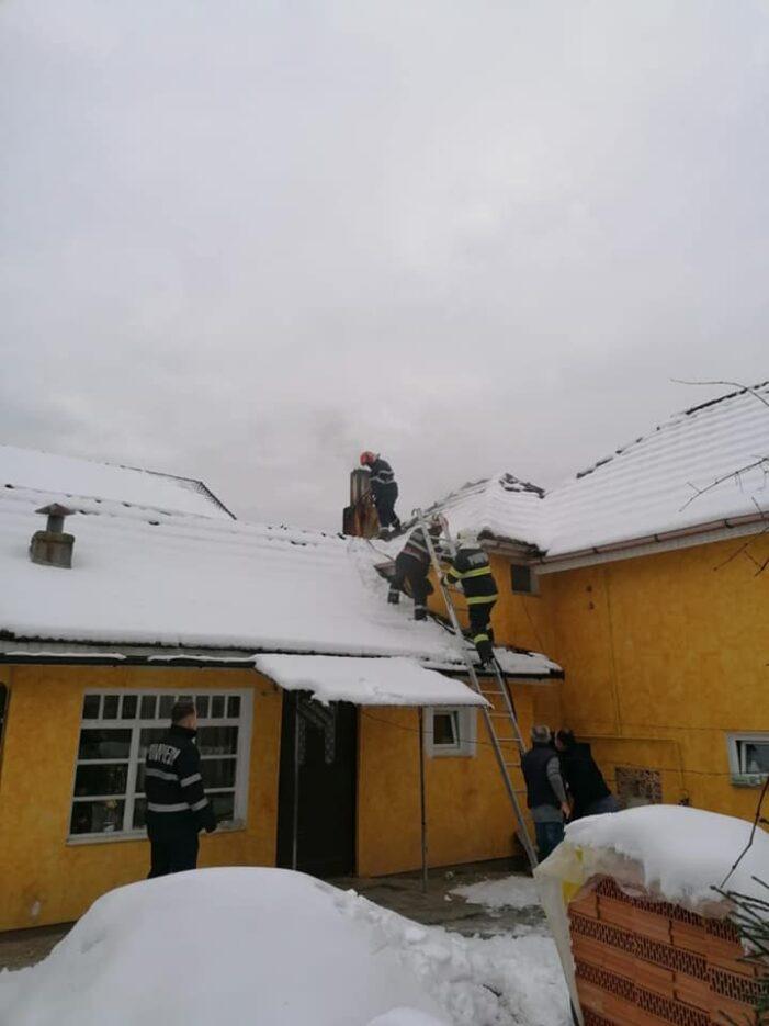 Hornul a luat foc (Foto)