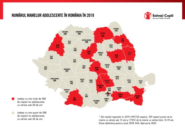Romania primul loc în Europa la mamele minore. Cum stăm în judetul Satu Mare ?