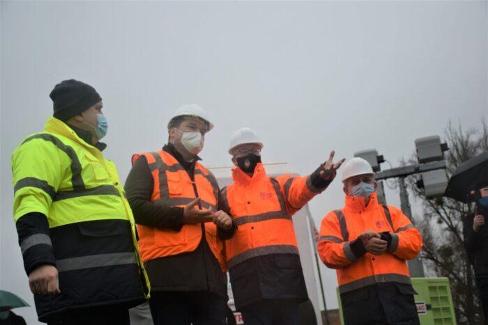 Ministrul Dezvoltarii, Cseke Attila, pe santierul celui de-al treilea pod peste Somes (Foto)