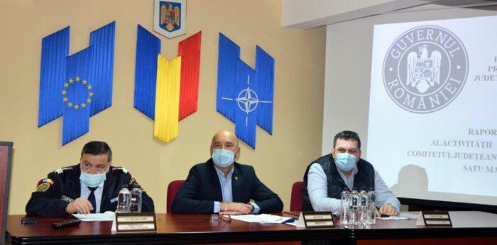 Judetul Satu Mare, in coada clasamentului la numarul de infectari cu Covid … spune prefectul Radu Bud