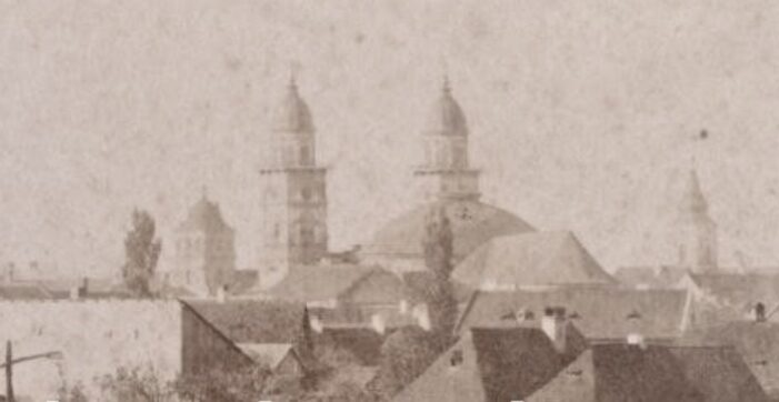 Vedere din Satmarul sfarsitului de veac. Poza realizata in 1895 (Foto)