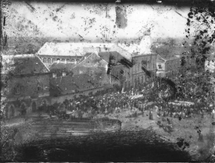 Instantaneu din vechiul Satmar. Asa arata la sfarsitul anilor 1800 (Foto)