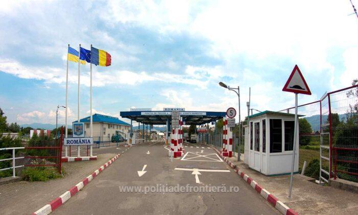 Cinci migranti prinși lângă Halmeu