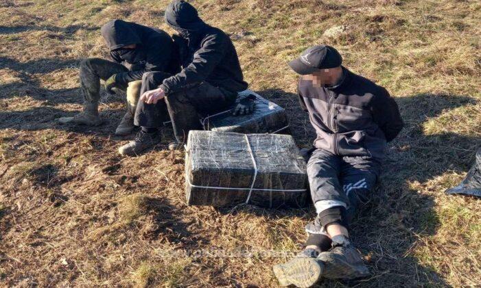Trei contrabandisti ucrainieni, retinuti (Foto)