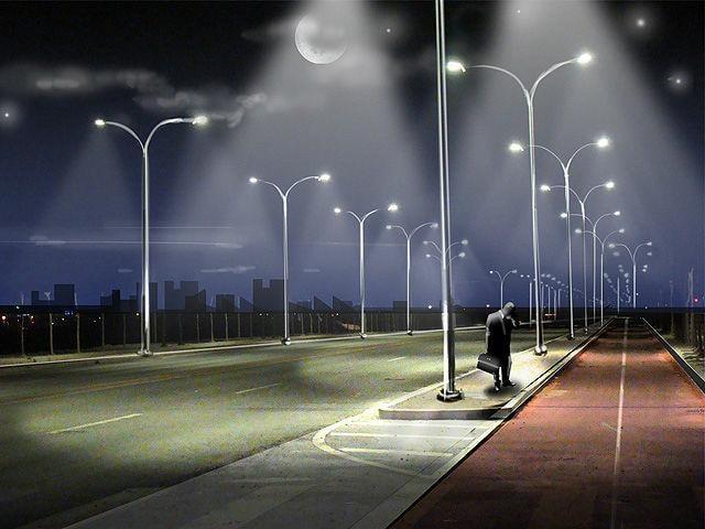 S-a semnat contractul ! Sistem modern de iluminat public la Negresti-Oas (Foto)