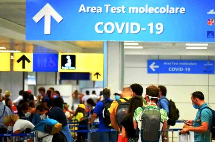 Italia, carantina de cinci zile și test pentru toate persoanele care sosesc din țări UE