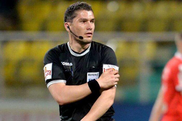 Istvan Kovacs va arbitra meciul Bayern – Lazio, din optimile Ligii Campionilor
