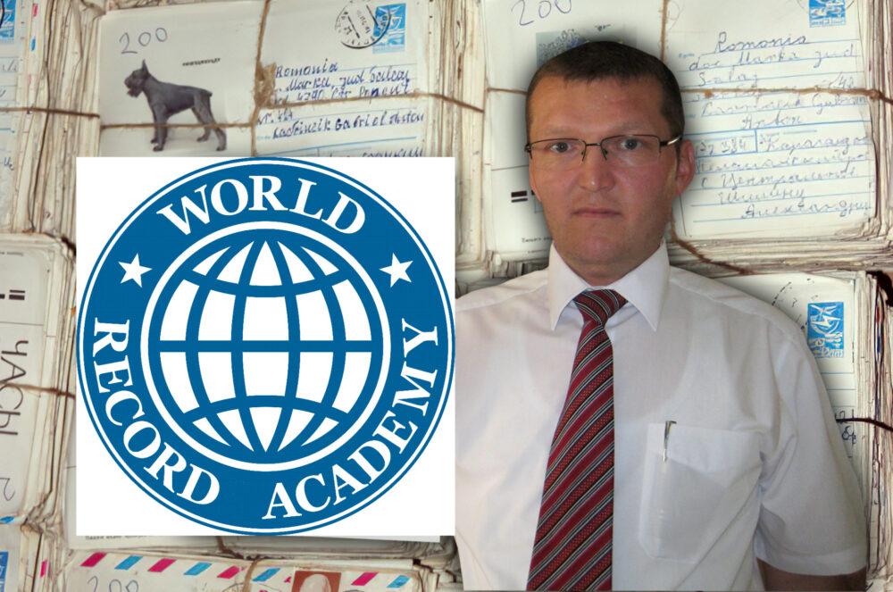 România inclusa în Academia Recordurilor Mondiale din SUA, de către sătmăreanul Gabriel Lavrincic