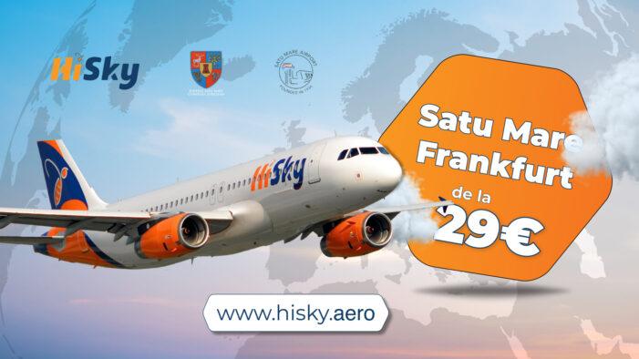 O nouă oportunitate de călătorie de pe Aeroportul Internațional Satu Mare !