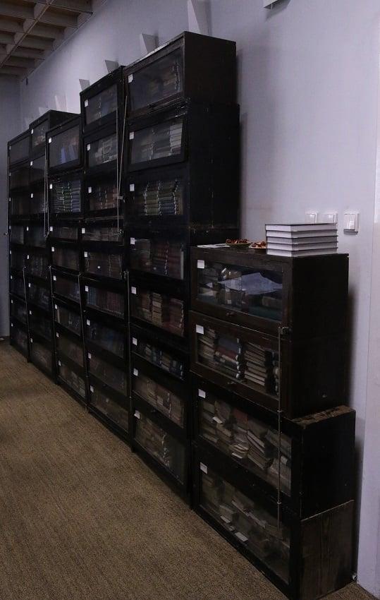 """Biblioteca """"Steuer"""" din Satu Mare, o comoara cu mii de volume (Foto)"""