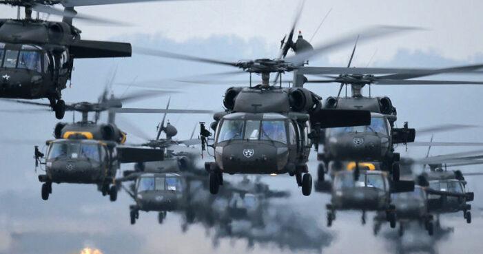 Elicoptere americane Black Hawk vor survola judetul Satu Mare