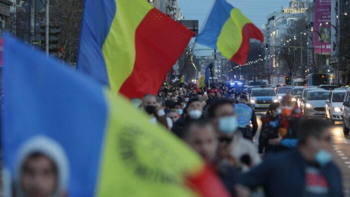 188 de oameni audiați și 18 jandarmi raniti, în urma protestului din București