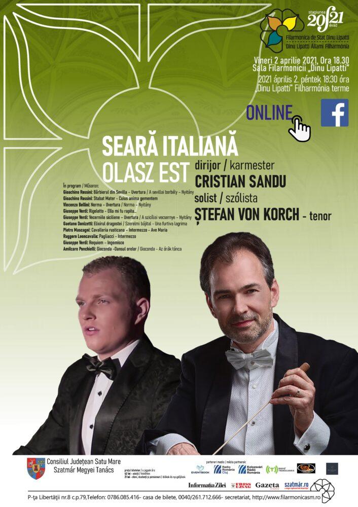 Seara italiana la Filarmonica