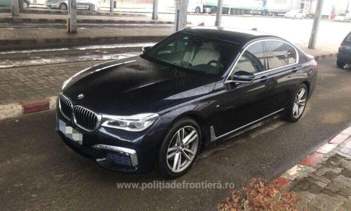 Mașina furată din Cehia, identificatra în Vama Petea (Foto)