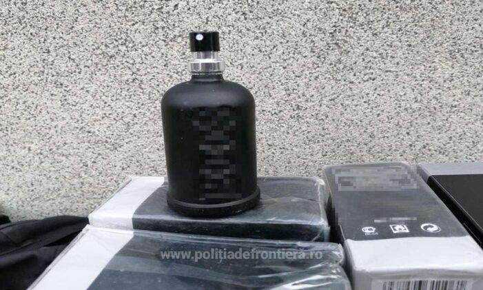 Parfumuri de contrabanda, confiscate la Urziceni (Foto)