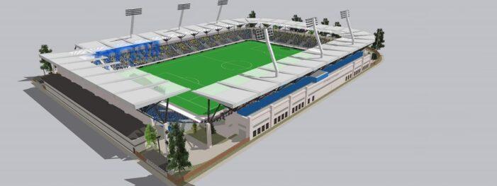 Stadion ultramodern, cu 12.000 de locuri, la Satu Mare (Fotogalerie)